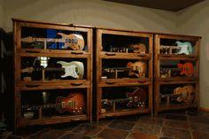 Katahdin Studio Furniture - Sundance Guitar Cabinet