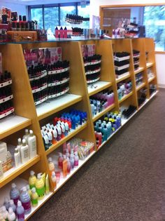 A slice of what I like to call heaven on earth! The OPI aisle of one of my favorite beauty supply stores, Ed Wyse.