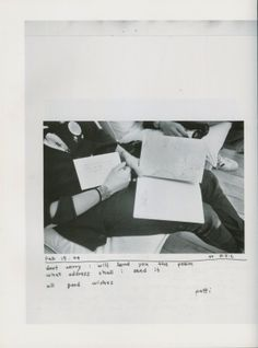 Letters Between Yoshie Tominaga and Patti Smith