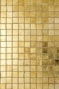 Perfect gold tone tile for bathroom