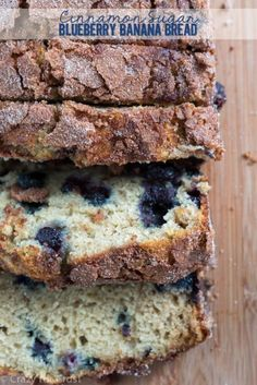 Juicy blueberries keep the banana bread moist, while a cinnamon sugar crusting adds texture. Get the recipe from Crazy for Crust.