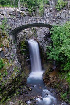 Christine Falls, Mt Rainier NP, Washington, USA