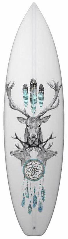 Surfboard art by Matt Jarvis