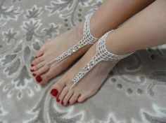silver ''''BAREFOOT BOHEMIAN WEDDING''' barefoot by MJewelryDesgn, $18.00
