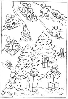 Hat Crafts, Diy And Crafts, Crafts For Kids, Winter Theme, Winter Hats, Christmas Time Is Here, Korean Art, Winter Sports, Coloring Pages