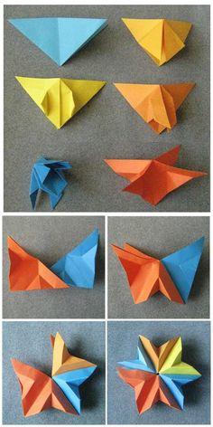 Origami 3D Modular Star