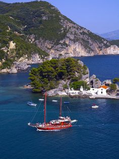 Parga, Hepirus-Greece