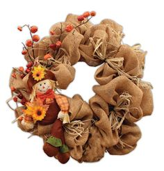 Geomesh Wreaths.  Fall Leaves Wreath!  Get ready for your next project with great decor items from Old Time Pottery!  www.oldtimepottery.com