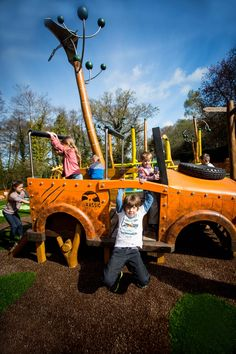 The Little Explorers' Play Park in Lost Kingdom at Paultons Park