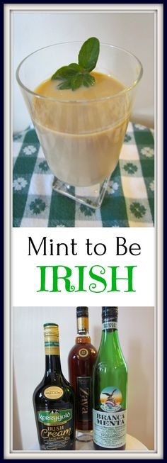 This drink will have you feeling like you are Irish whether your heritage comes from Ireland or not. Irish Cocktails, St Patrick's Day Cocktails, Cocktail Recipes, Beverages, Drinks, Gin And Tonic, St Patricks Day, Ireland, Alcohol