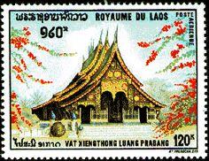 timbre du Laos