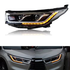 For Toyota Highlander 14-16 Xenon Headlights LED Light Pipe DRL+Cornering Lamps | eBay Motors, Parts & Accessories, Car & Truck Parts | eBay!