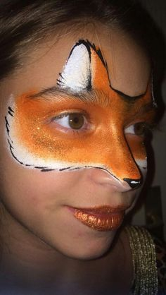 Grimage fox renard nana face painting 2017