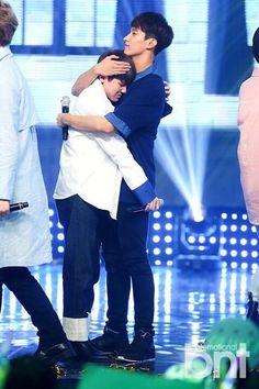 Jihoon and Seokmin :')