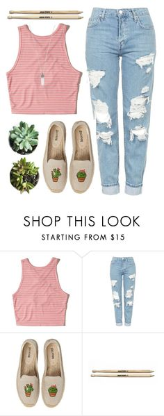 """Katelyn"" by brie-the-pixie ❤ liked on Polyvore featuring Hollister Co., Topshop, Soludos and Marc Jacobs"