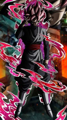 Super Saiyan Rose Goku Black Dokkan LR Style by davidmaxsteinbach on DeviantArt Goku Wallpaper, Black Wallpaper Iphone, Wallpaper Desktop, Iphone Wallpapers, Dragon Ball Z, Black Goku, Dbz, Zamasu Black, Film D'animation