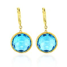 These Ladies Blue Topaz Diamond Earrigns in 14K gold weigh approximately 7 grams. Showcase 21.95-carat round blue topaz and 0.04 carat sparkling diamond. Featuring a lovely design and a highly polished gold finish, these ladies earrings make a perfect gift for any occasion and are available in 14K white, yellow and rose gold. Blue Diamond Jewelry, Blue Topaz Diamond, Women's Earrings, Diamond Earrings, Sparkling Diamond, Diamond Are A Girls Best Friend, Cute Jewelry, Rose Gold, Jewels