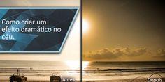 Como criar efeito dramático no céu - Lightroom Brasil