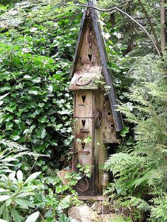 Another Bird House by Flower Child, via Flickr