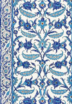 Turkish Design | Topkapi in Peacock