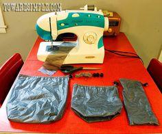 toward simple: DIY Silnylon Ultralight Backpacking Stuff Sacks for $6