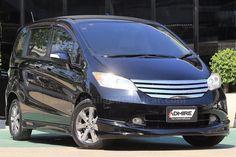 ขายรถเก๋ง HONDA FREED ฮอนด้า ฟรีด รถปี2012 สีดำ
