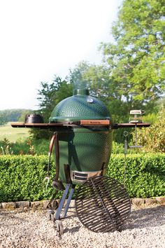 Big Green Egg  http://www.islandlivingandpatio.com/portfolio/big-green-eggs/