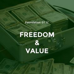 The foundation of success is made up of FREEDOM & VALUE. Freedom is what we seek to attain (WHY we do it) value is the way to attain it (HOW we do it). . #startup #startups #startuplife #startupbusiness #startupgrind #startupweekend #startuplifestyle #startupquotes #startupcompany #startupindonesia #startupstories #startuptips #startupadvice