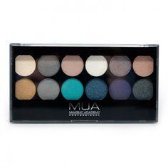12 Shade Dusk til Dawn Palette - Palettes - Eyes | MUA Make up Academy