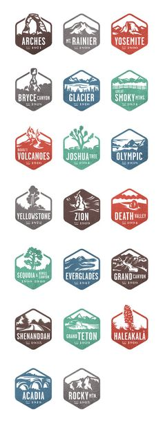 National Park Stamps >>> How many do you have?