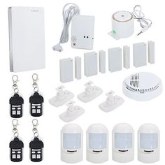 Intelligent Wireless GSM Home Security Alarm System - Wireless Gsm Security Alarm System Android Home Security Alarm System, Best Home Security, Wireless Home Security, Security Companies, Security Service, Home Safes, Home Defense, Spy Camera, Home Technology