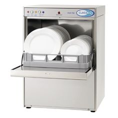 Classeq DUO750 Dishwasher with Integral Water Softener - CF734-30A #catering