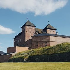 Finland, Castles, Palace, Medieval, Sky, Mansions, House Styles, Travel, Beautiful
