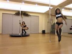 Closer - Kings of Leon - Pole Dance by Mini and Jamaica - YouTube