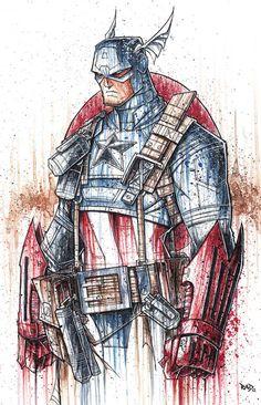 "Captain America ""Saucy"" Commish"