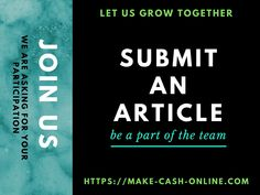 Want a win-win situation? If you wish to grow with us, JOIN US. Submit articles, blogs, reviews, featured products, etc. Get paid an honorarium. Get featured. Make Cash Online, Wish You Well, Win Win Situation, Grow Together, Social Media Pages, First Page, Target Audience, To Tell, Encouragement