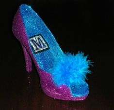 Krewe of Muses Shoe, one of the best throws of #MardiGras in #NOLA!