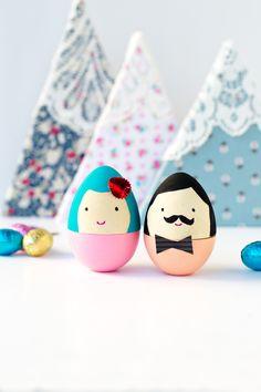DIY Project #59: Mr & Mrs Egg