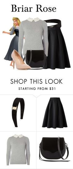 """""""Briar Rose"""" by megan-vanwinkle ❤ liked on Polyvore featuring Salvatore Ferragamo, Dorothy Perkins and Rebecca Minkoff"""