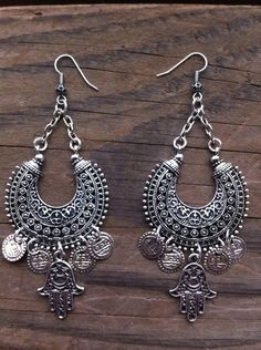 "Gypsy Soul Earrings  Belly Dance   BOHO Jewelry by RedGypsyJewelry  . ""Thankful 2 day sale"" Dec.5th & 6th.Take 30% off your purchase if you pay via Pay Pal with shop code : 30PAYPAL . or for all other payment methods , take 20% off using shop code : THANKYOU2014 . Peace and happiness to you. Red Gypsy Jewelry  @ www.etsy.com/shop/redgypsyjewelry"