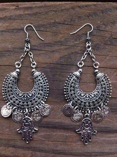 Gypsy Soul Earrings  Belly Dance   BOHO Jewelry by RedGypsyJewelry