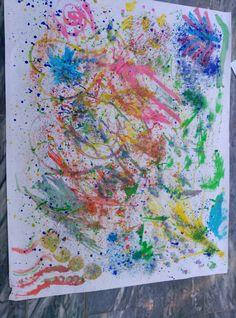 Importancia de realizar creaciones artísticas en la etapa de Educación Infantil. Es fundamental que desde edades tempranas los niños desarrollen su creatividad.