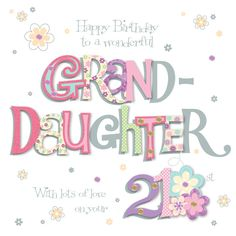 16 Best Granddaughter Birthday Cards Images