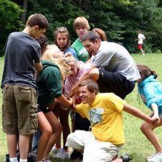 Noeud humain : un jeu pour favoriser l'esprit d'équipe et la communication...