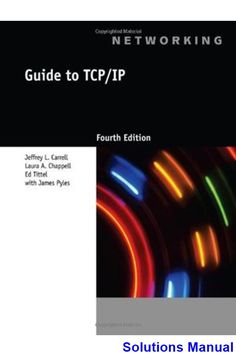 Hola amigos 8th edition jarvis test bank test bank solutions solutions manual for guide to tcp ip 4th edition by carrell fandeluxe Gallery