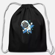 Space Galaxy Flying Hippo Animal I Gift Idea Tote Bag Iron Man 2008, Product Offering, Custom Clothes, Tote Bag, Space, Gifts, Bags, Animals, Floor Space
