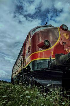 Photo train by Mario Rudolph