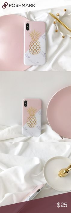 *Coming soon* Cute marble case Pineapple marble case for iPhone X. Available in 2 weeks Accessories Phone Cases