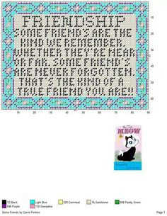 Some friends sign Plastic Canvas Letters, Plastic Canvas Tissue Boxes, Plastic Canvas Christmas, Plastic Canvas Crafts, Canvas Quotes, Canvas Signs, Sayings And Phrases, Stitch Pictures, Canvas Patterns