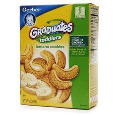 Gerber Graduates for Toddlers Cookies Banana - 5 oz.